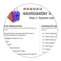 SeoToaster fast & easy setup